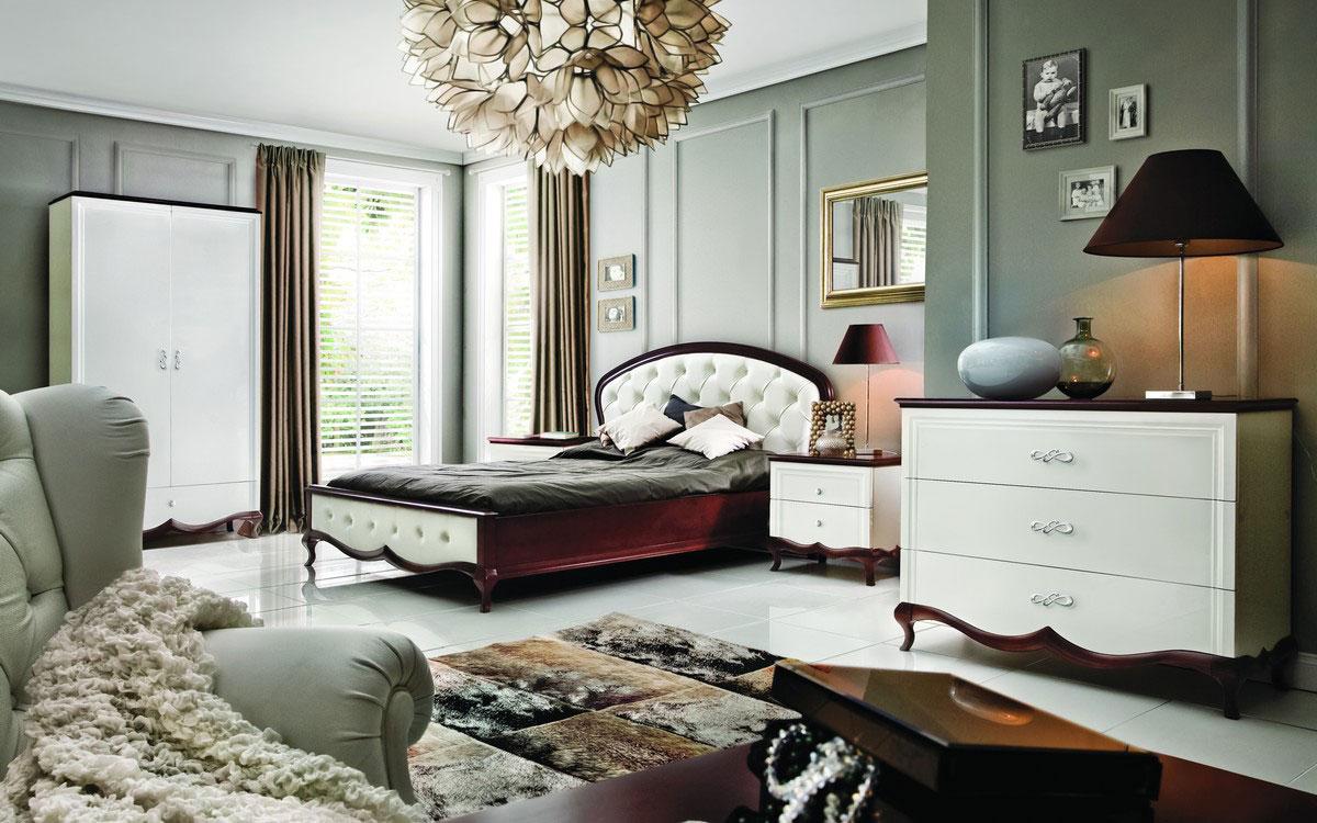 Польская мебель Milano спальня Milano ARANŻACJA SYPIALNIA 2