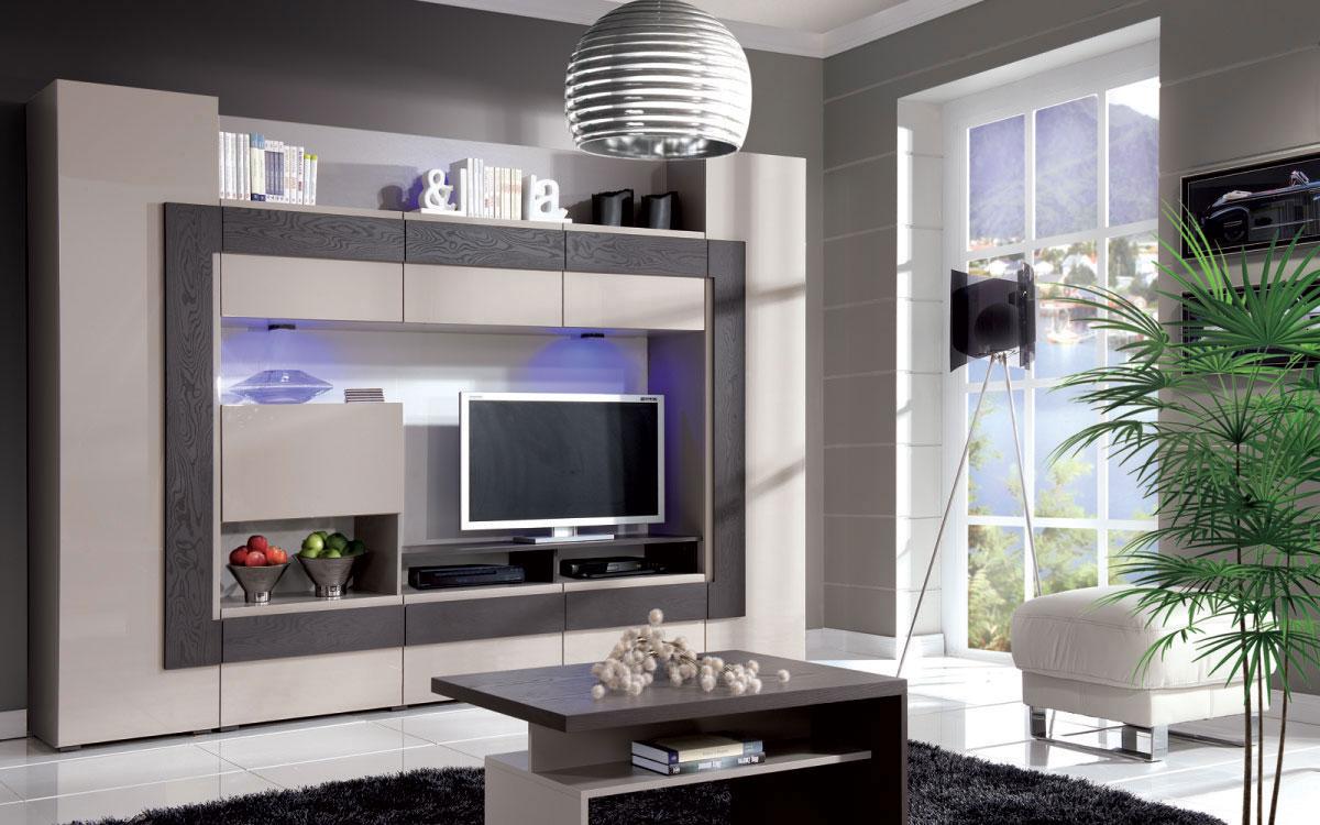 Польская мебель Cube гостиная CUBE ARANŻACJA 1